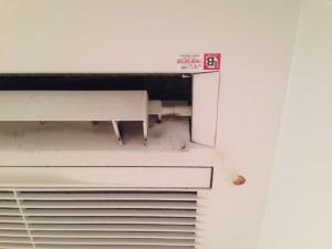 エアコンのハウスクリーニングを川崎市中原区市ノ坪にて【清掃事例1】