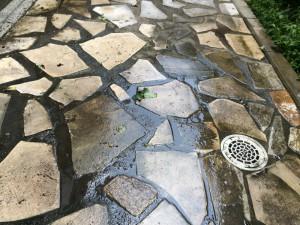外部タイルのハウスクリーニングを横浜市西区平沼にて【清掃事例19】