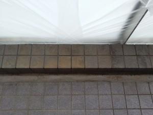 バルコニーのハウスクリーニングを横浜市西区戸部町にて【清掃事例92】