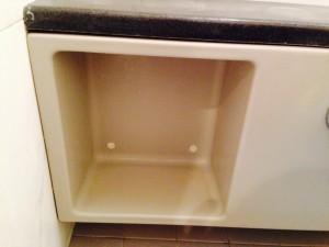洗面所のハウスクリーニングを横浜市西区桜木町にて【清掃事例107】