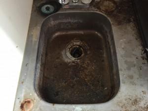 キッチンのハウスクリーニングを横浜市中原区木月にて【清掃事例133】