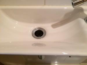 洗面所のハウスクリーニングを川崎市幸区塚越にて【清掃事例168】