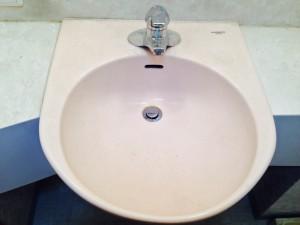 洗面所のハウスクリーニングを川崎市宮前区水沢にて【清掃事例177】