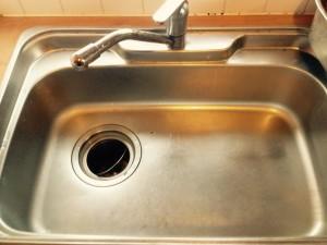 キッチン(シンク)のハウスクリーニングを横浜市神奈川区平川町にて【清掃事例175】