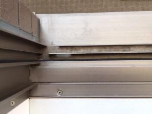 ガラスサッシのハウスクリーニングを川崎市中原区木月住吉町にて【清掃事例162】