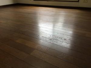 床のハウスクリーニングを横浜市中区山手町にて【清掃事例134】