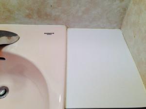 洗面所のハウスクリーニングを横浜市港北区岸根町にて【清掃事例192】