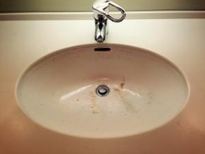 洗面所のハウスクリーニングを川崎市幸区矢上にて【清掃事例191】