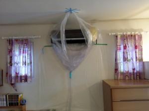 エアコンのハウスクリーニングを川崎市多摩区中野島にて【清掃事例227】