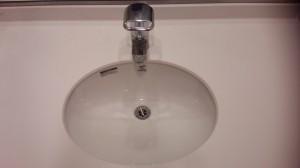 洗面所のハウスクリーニングを川崎市中原区小杉町にて【清掃事例243】