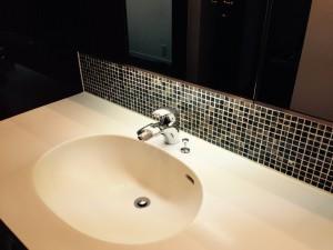 洗面所のハウスクリーニングを川崎市宮前区平にて【清掃事例255】