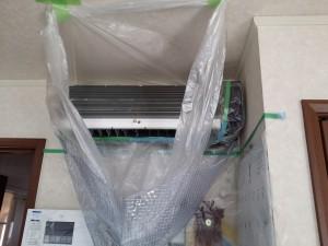エアコンのハウスクリーニングを川崎市幸区遠藤町にて【清掃事例267】
