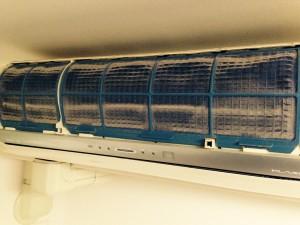 エアコンのハウスクリーニングを川崎市多摩区登戸新町にて【清掃事例290】