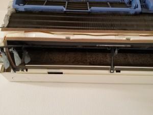 エアコンのハウスクリーニングを川崎市川崎区駅前本町にて【清掃事例300】