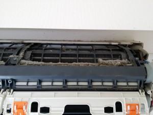 エアコンのハウスクリーニングを川崎市宮前区鷺沼にて【清掃事例298】