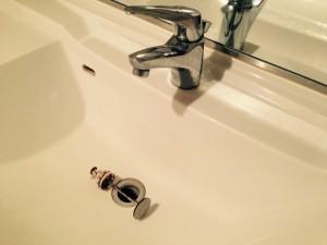 洗面所のハウスクリーニングを川崎市中原区上丸子山王町にて【清掃事例310】