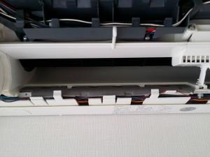 エアコンのハウスクリーニングを川崎市中原区小杉町にて【清掃事例354】