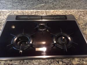 キッチン(五徳)のハウスクリーニングを川崎市多摩区登戸にて【清掃事例360】