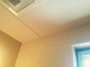 お風呂(天井)のハウスクリーニングを川崎市麻生区南黒川にて【清掃事例334】