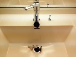 洗面所のハウスクリーニングを川崎市川崎区昭和にて【清掃事例349】
