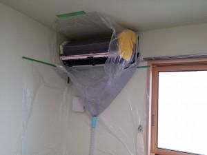 エアコンのハウスクリーニングを川崎市麻生区上麻生にて【清掃事例384】