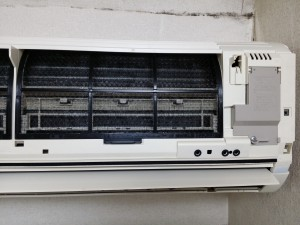 エアコンのハウスクリーニングを川崎市幸区小倉にて【清掃事例389】