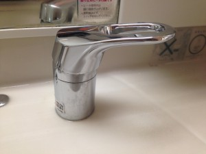 洗面所のハウスクリーニングを川崎市幸区小倉にて【清掃事例390】