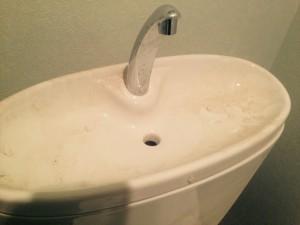トイレのハウスクリーニングを川崎市川崎区池田にて【清掃事例398】