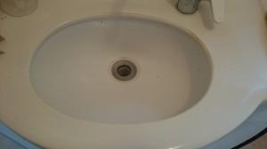 洗面所のハウスクリーニングを川崎市川崎区田町にて【清掃事例427】