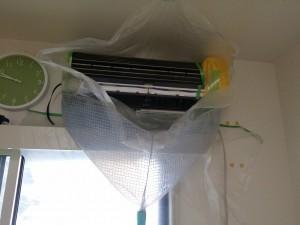 エアコンのハウスクリーニングを川崎市川崎区殿町にて【清掃事例444】