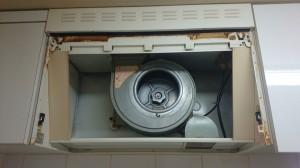 レンジフードのハウスクリーニングを川崎市中原区井田にて【清掃事例446】