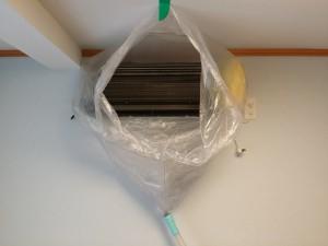 エアコンのハウスクリーニングを川崎市麻生区岡上にて【清掃事例451】