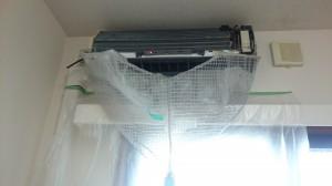 エアコンのハウスクリーニングを川崎市幸区南幸町にて【清掃事例473】