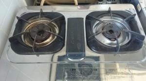 キッチン(五徳)のハウスクリーニングを川崎市幸区鹿島田にて【清掃事例476】