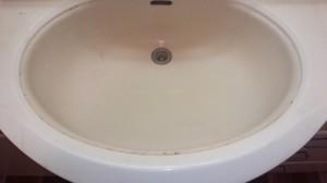 洗面所のハウスクリーニングを川崎市中原区上新城にて【清掃事例517】