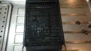キッチン(グリル)のハウスクリーニングを川崎市幸区戸手本町にて【清掃事例552】