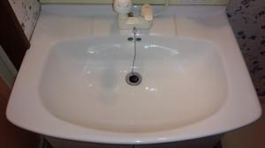 洗面所のハウスクリーニングを川崎市多摩区菅野戸呂にて【清掃事例566】