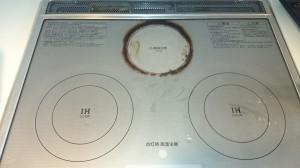 キッチン(IH)のハウスクリーニングを横浜市西区楠町にて【清掃事例657】