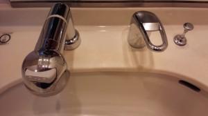 洗面所のハウスクリーニングを川崎市高津区下作延にて【清掃事例659】