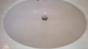 洗面所のハウスクリーニングを川崎市麻生区白山にて【清掃事例701】