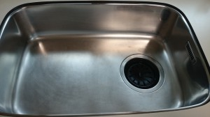 キッチン(シンク)のハウスクリーニングを横浜市青葉区鴨志田町にて【清掃事例730】