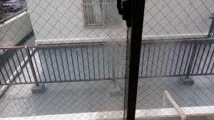 ガラスサッシのハウスクリーニングを川崎市川崎区田辺新田にて【清掃事例738】