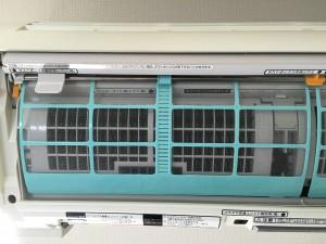 エアコンのハウスクリーニングを横浜市青葉区美しが丘西にて【清掃事例718】