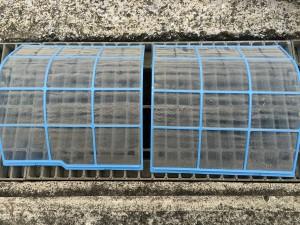 エアコンのハウスクリーニングを川崎市川崎区日ノ出にて【清掃事例786】
