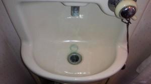 洗面所のハウスクリーニングを川崎市中原区小杉御殿町にて【清掃事例774】