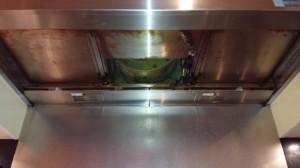 レンジフードのハウスクリーニングを川崎市川崎区新川通にて【清掃事例812】