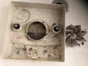 お風呂(浴室)のハウスクリーニングを横浜市青葉区荏田北にて【清掃事例842】