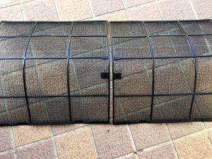 エアコンのハウスクリーニングを横浜市中区港町にて【清掃事例832】