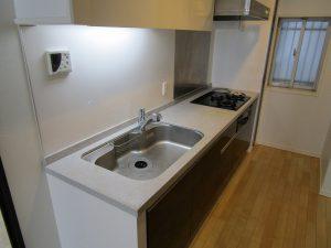 キッチンのハウスクリーニングを川崎市高津区千年新町にて【清掃事例916】