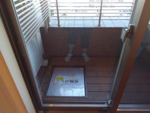 ガラスサッシのハウスクリーニングを川崎市中原区新城にて【清掃事例853】